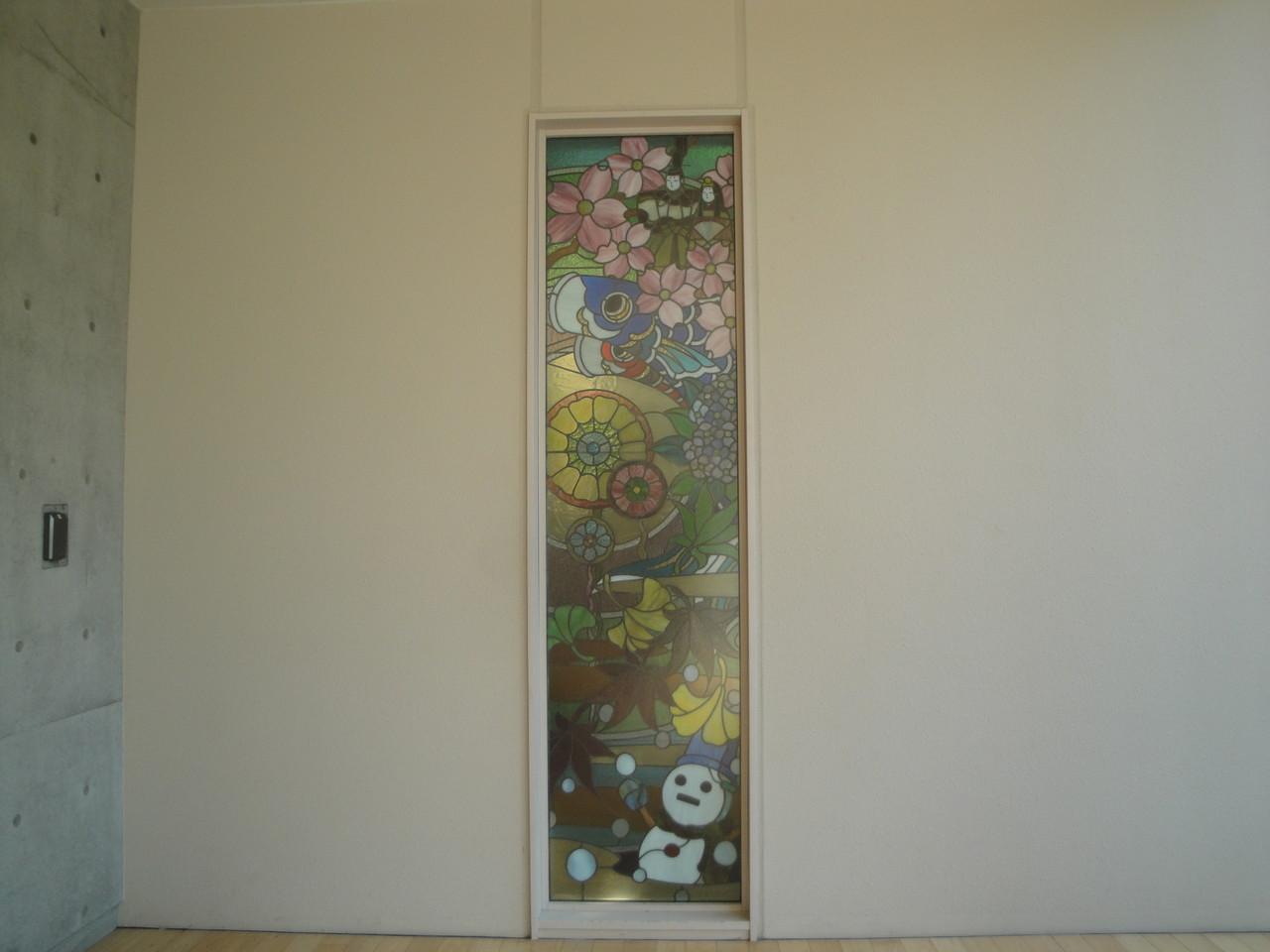 2階ステンドグラス