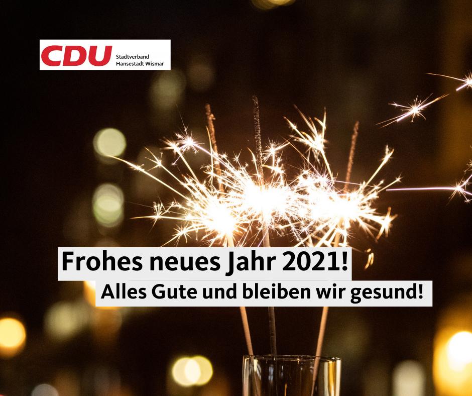Frohes und gesundes neues Jahr 2021!