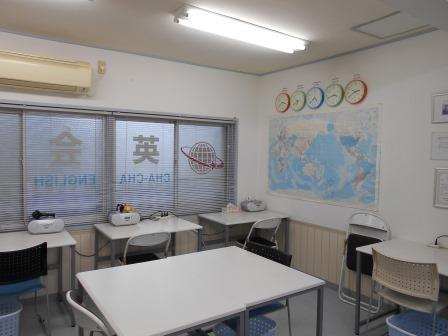 1階教室(英会話ジムレッスン)