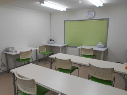 3階教室(テスト兼自習室)