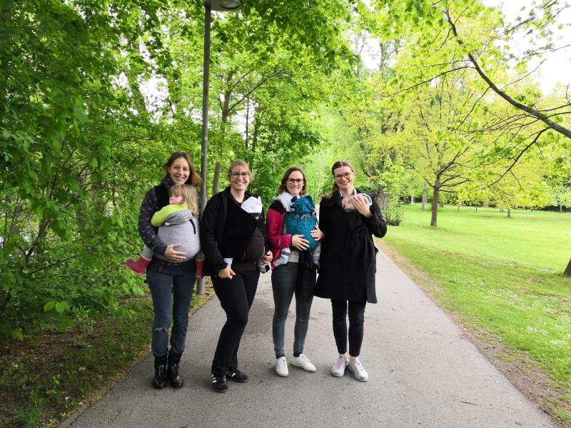 Tragespaziergang Mai 2019 (Stadtpark)