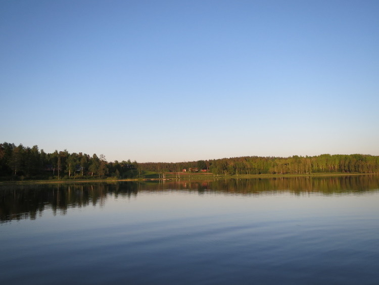 Angekommen - still ruht der See (noch)