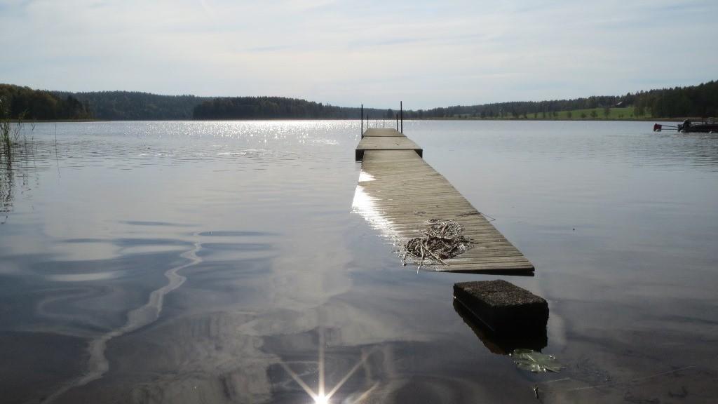 Und still ruht wieder der See... noch