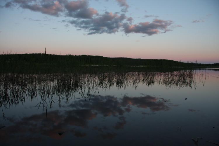 Und den See!