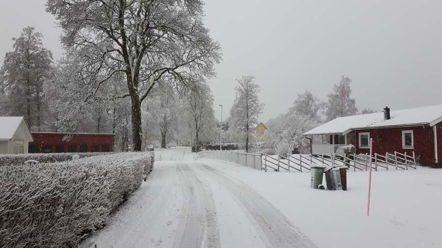 Juhu es fängt an zu schneien...