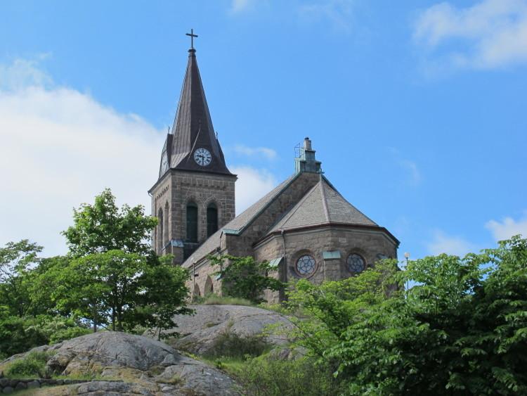Die Kirche erbaut auf Felsen