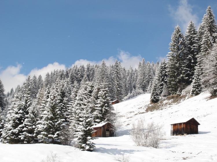 ...eine wunderschöne Wintertour...