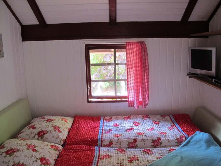 Und dann drinnen - Schlafkoje