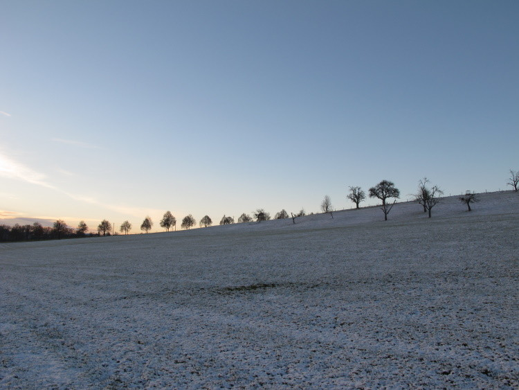 So schöner Schnee, wenn auch nocht viel...
