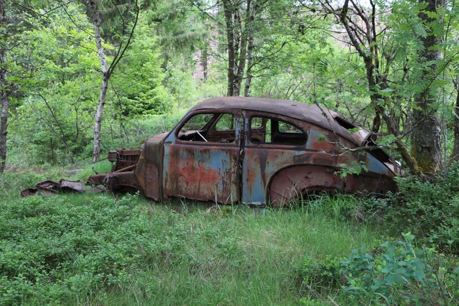 Ein alter Buckel-Volvo...
