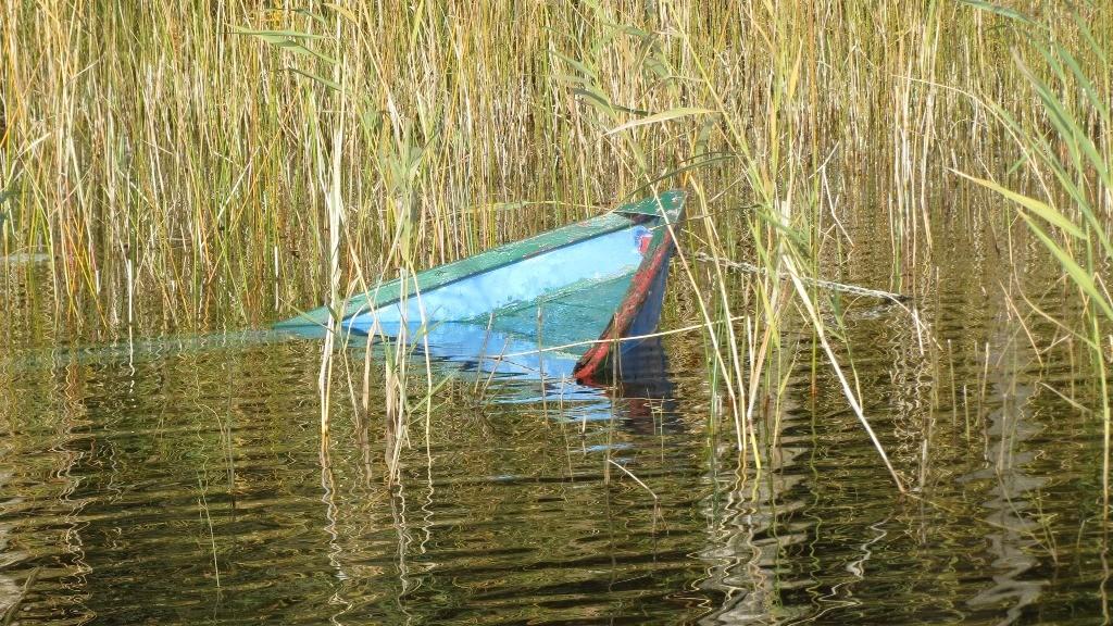 Nein, das ist nicht unser Boot!