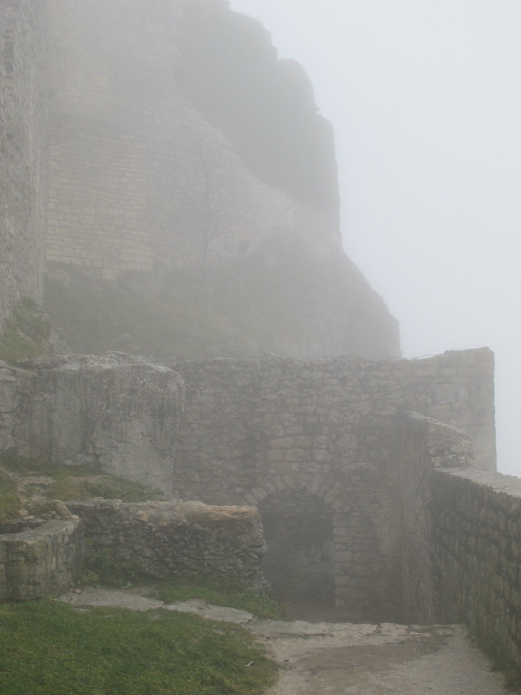 Nächster Tag, dicker Nebel
