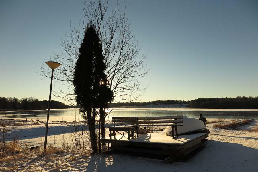 Und jeden Tag schönstes Winterwetter...