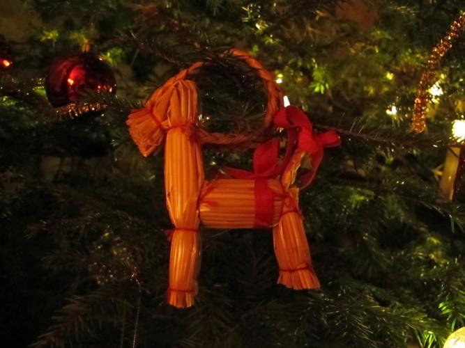 Julbock - Symbol der schwedischen Weihnacht