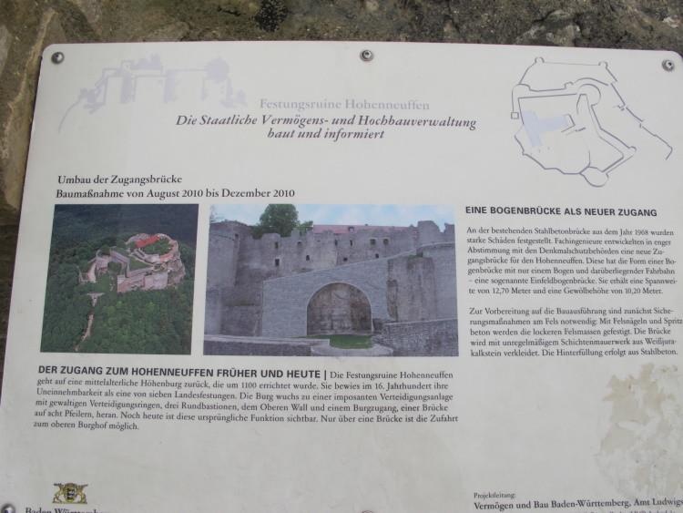 Trotzdem - auf zur Burg Neuffen