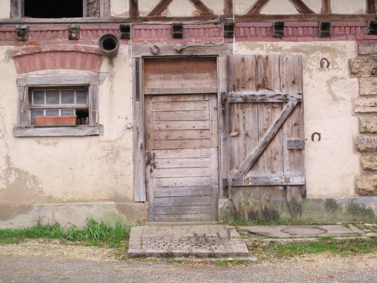 """Eines von Frauchen Lieblingsmotiven """"Türen"""""""