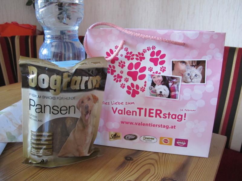 Von wegen Valentinstag -hier im Hotel ist ValenTIERstag :-)