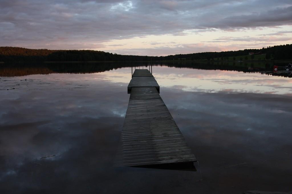 Und dann ruht still der See...