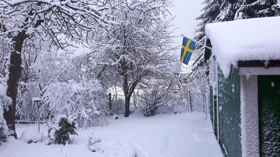 Nein nicht in Schweden - in Norddeutschland :-)