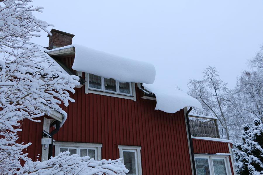 Ups, wir haben wirklich viel Schnee