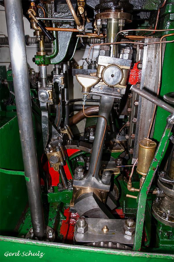 """Dampfmaschine, Eisbrecher """"Elbe"""""""