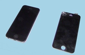 iPhone 5 mit neuem Display