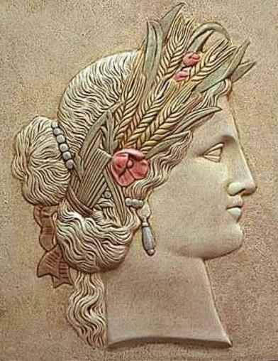 Göttin Ceres