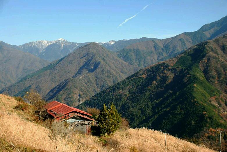 日本のチベット、遠山郷