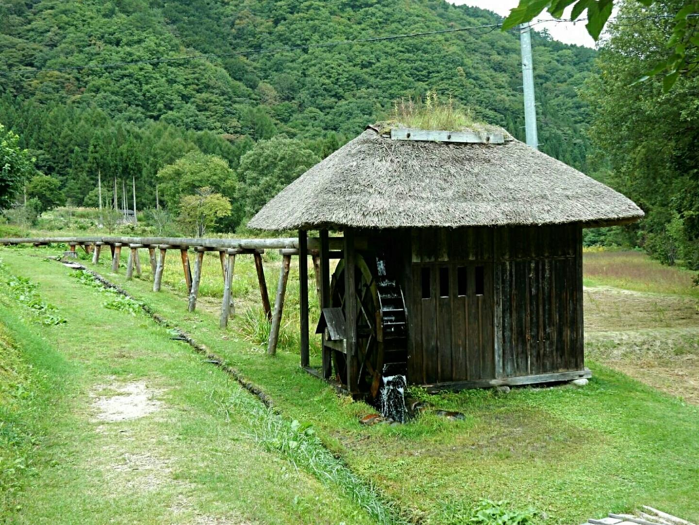 コットン水車の風景、福島県