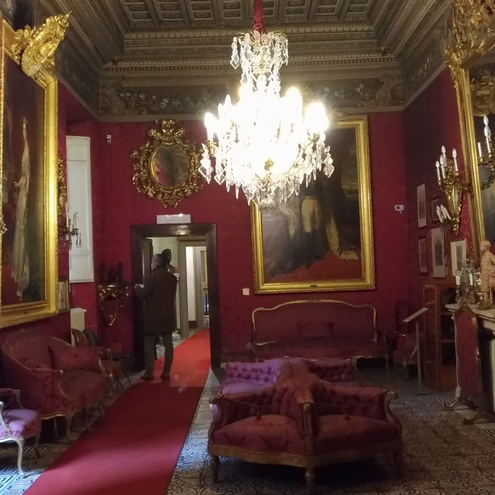 Museo Napoleonico di Roma - Pinte al Museo