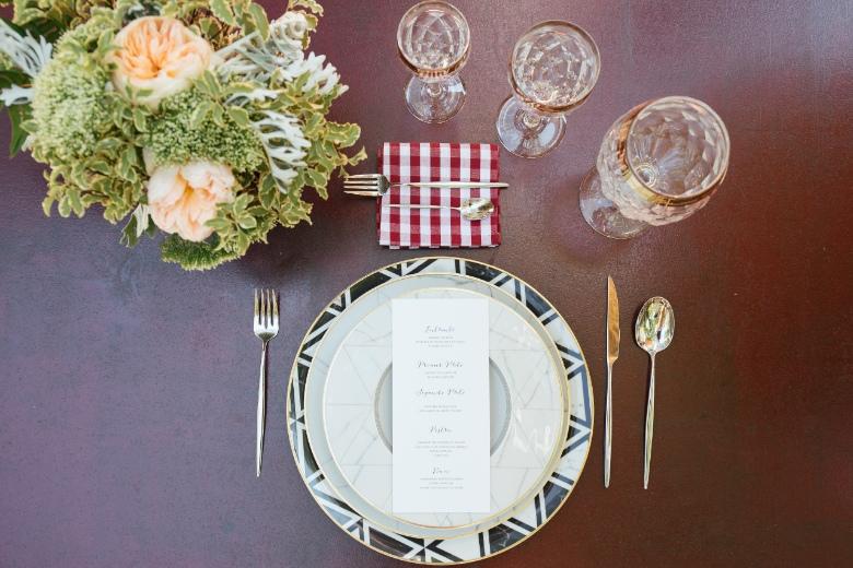 alt decoracion mesa banquete boda industrial