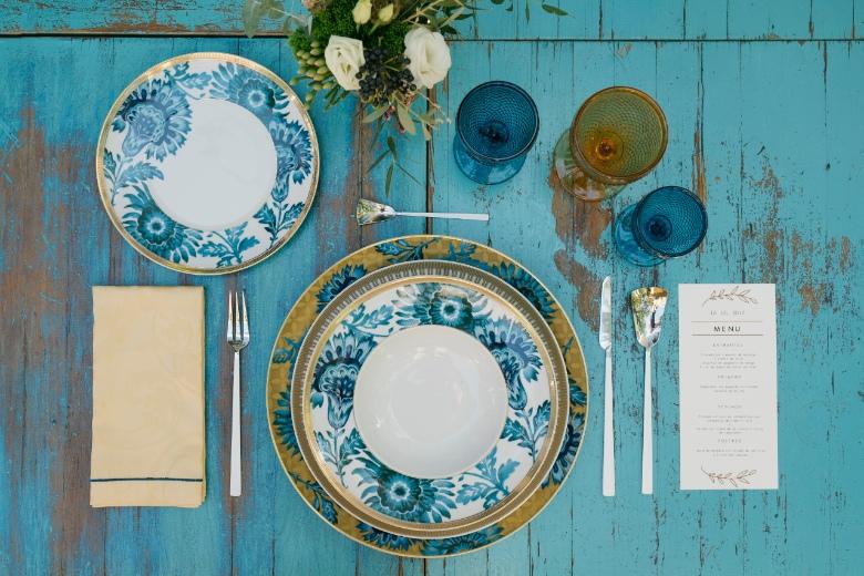 alt decoracion mesa banquete boda vintage