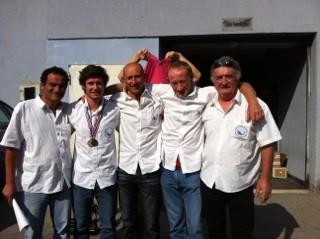 L'équipe du Lancer Lourd Dacquois