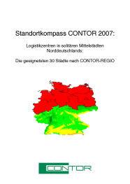 Die geeignetsten Standorte für Logistikzentren in norddeutsche Mittelstädte