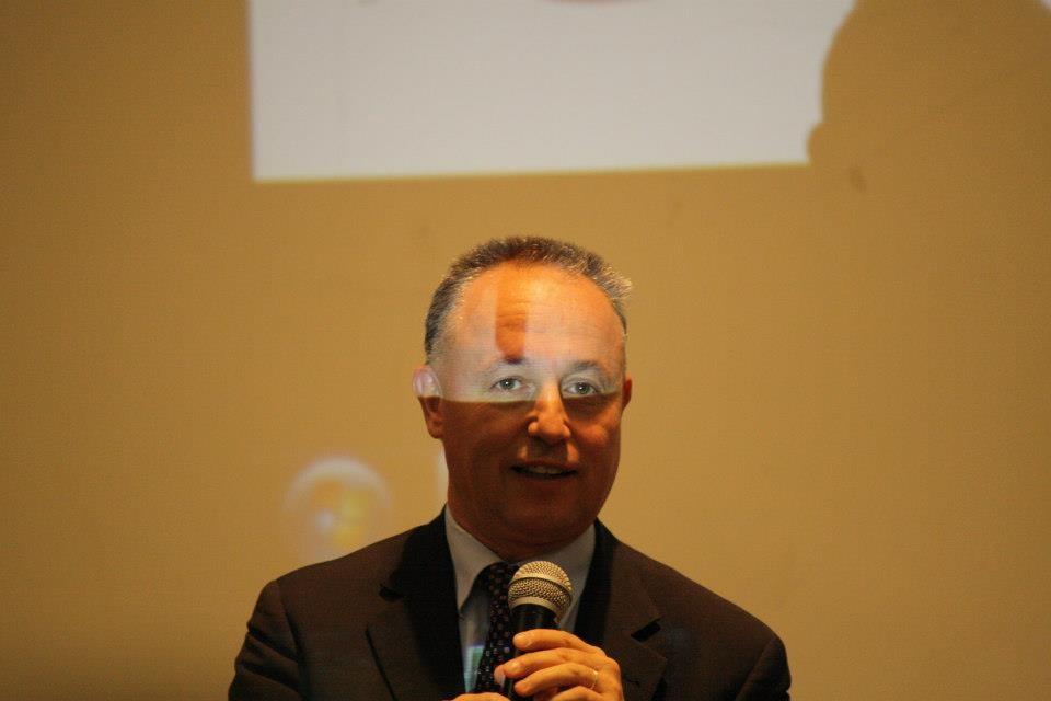 Professor Stefano Pilotto, Vice Presidente dell'Associazione Liceo Dante 150 Trieste