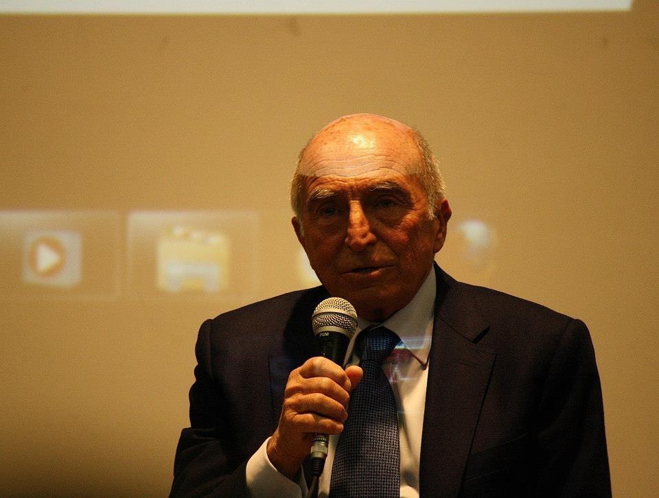 Professor Giacomo Borruso, Presidente dell'Associazione Liceo Dante 150 Trieste