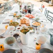 Essen, Sommer, Griechenland, Frühstück, Genuss, Freude