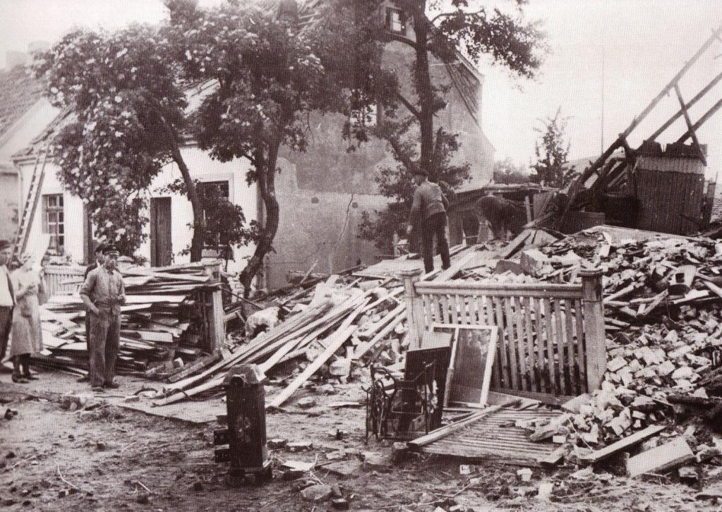 """""""Oslebshauser Landstraße Nr. 39"""", 1944"""