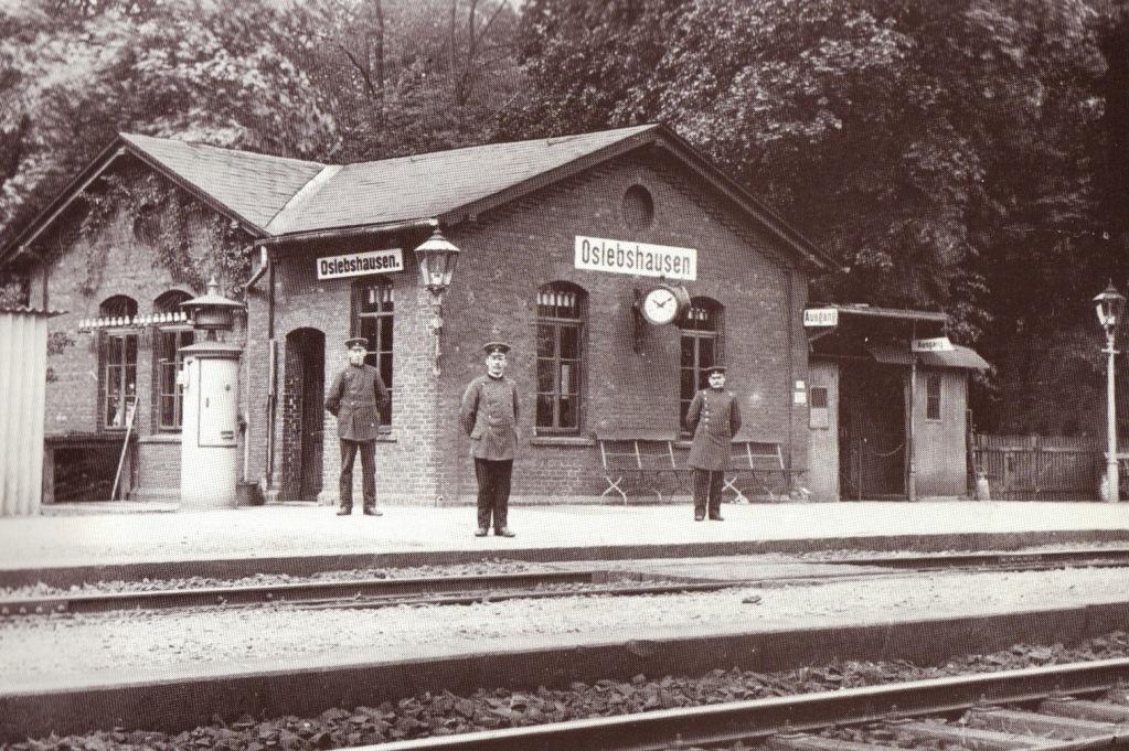 Halteplatz der Bremer-Geestemünder Eisenbahn, 1912