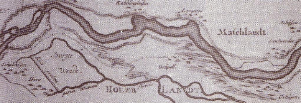 Plan der Reichsstadt Bremen, nach 1716