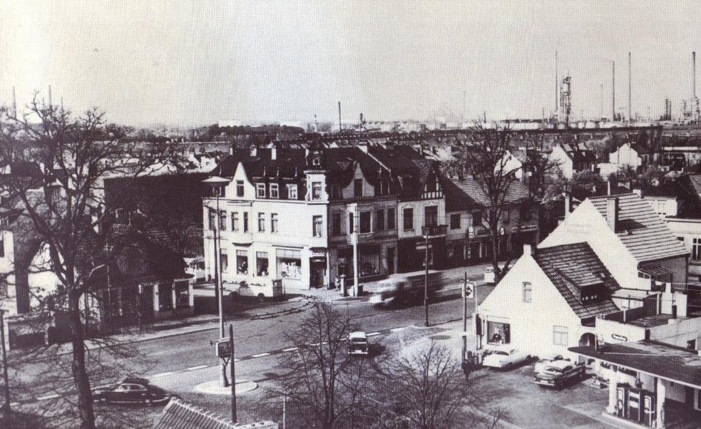 """Die jetzige """"Ritterhuder Heerstraße"""", 1961"""