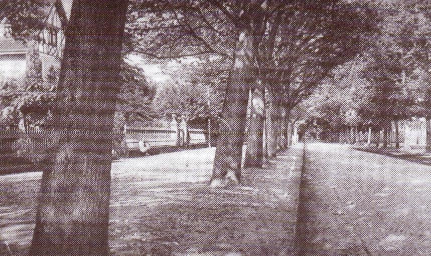 """Oslebshauser Heerstraße"" um 1900"