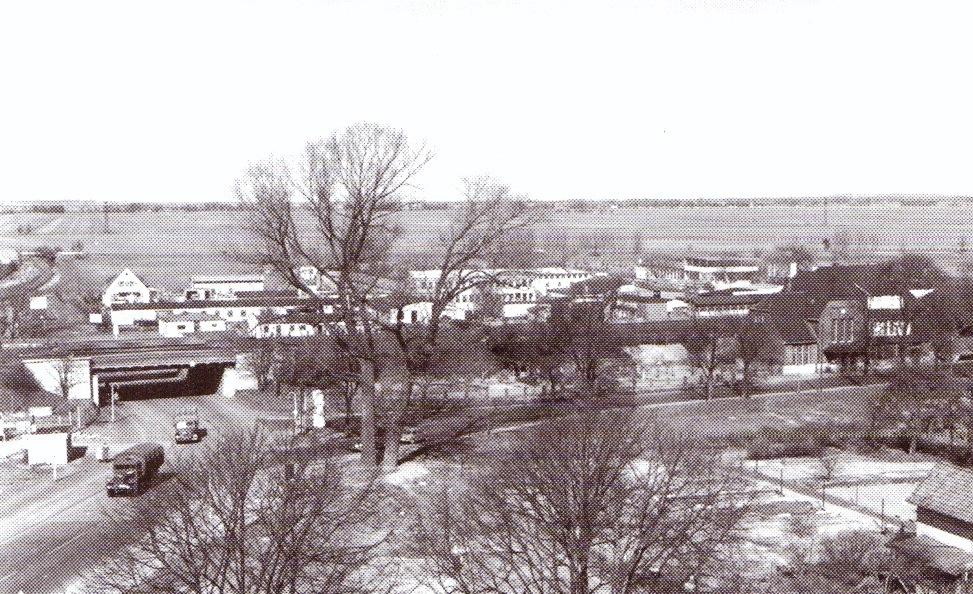 Bahnhof Oslebshausen um 1960