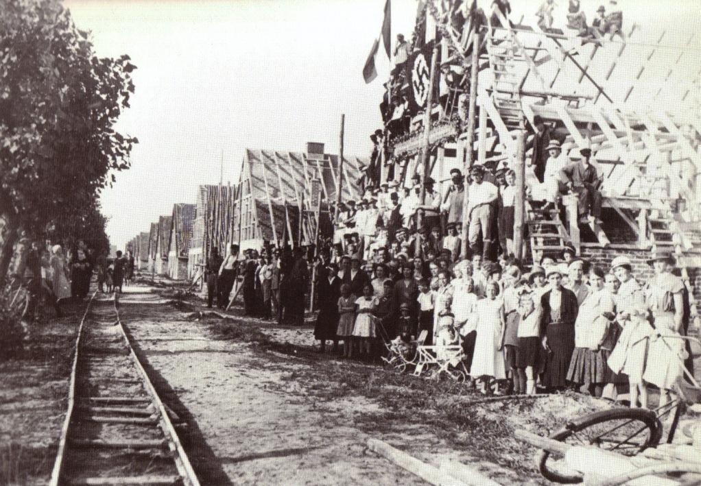 """""""Bauerndobben"""", Richtfest, 1933"""