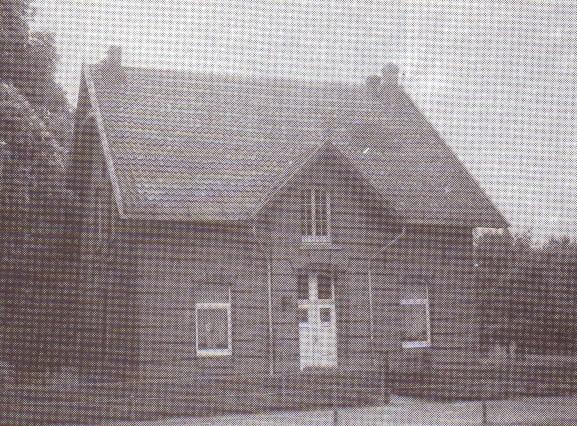 Ehemaligen Wachhaus des Pulverbergs, Gebaut 1879
