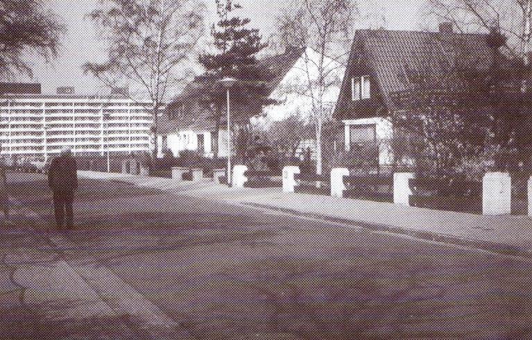 """""""Alte Dorfstraße"""" um 1976"""