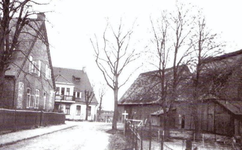 """""""Alte Dorfstraße"""" um 1910"""