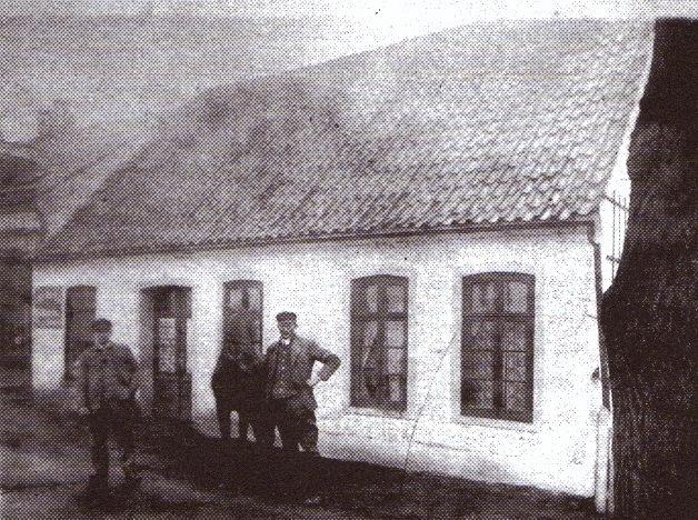 Fuhrgeschäft Focke, Oslebshauser Heerstraße, ca. 1930