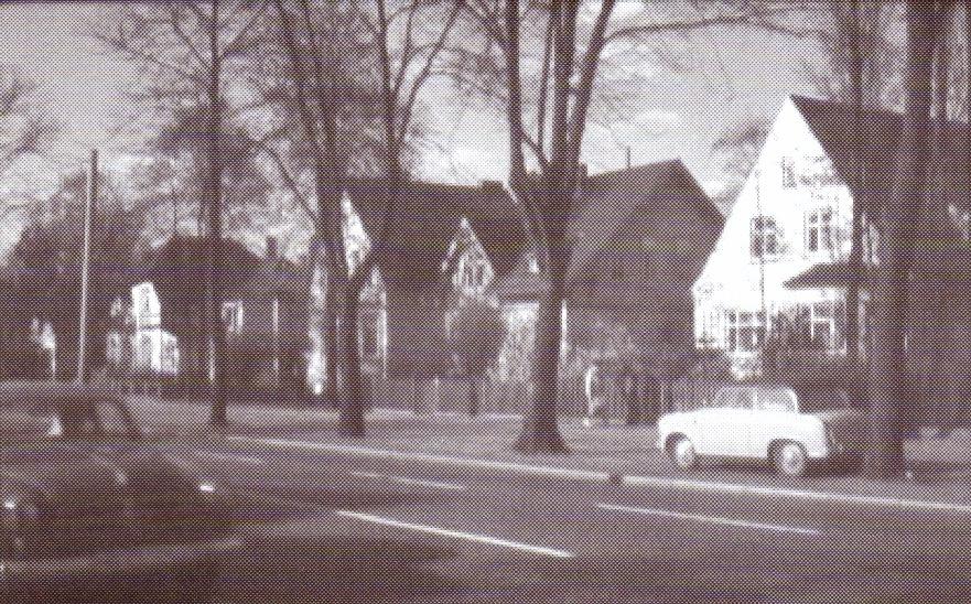 """Oslebshauser Heerstraße"" um 1960"
