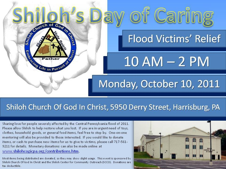Shiloh COGIC Community Day of Caring Flyer